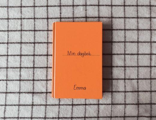 En orange dagbok